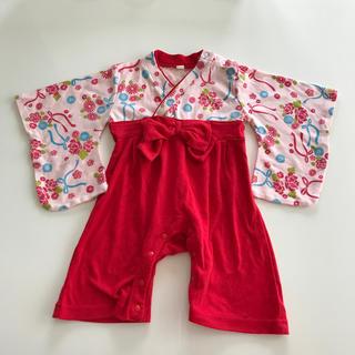 袴ロンパース size70(和服/着物)