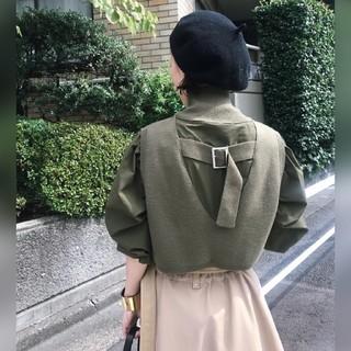 Ameri VINTAGE - Ameri【新品】ミニニット ドッキング シャツ