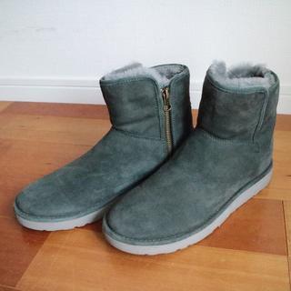 アグ(UGG)のUGG ショートブーツ 25センチ ABREE MINI 箱つき(ブーツ)