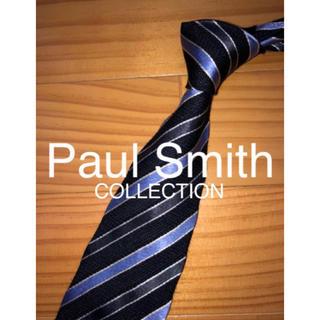 ポールスミス(Paul Smith)の美品 Paul Smith ブラックストライプ(ネクタイ)