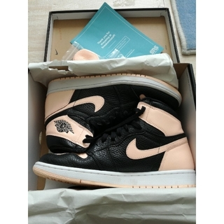 NIKE - AIR JORDAN 1 RETRO HIGH OG Crimson Tint