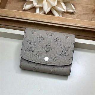 LOUIS VUITTON - ルイヴィトン 二つ折り財布 LV レデイース 箱 保存袋付き