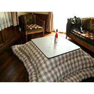 超撥水加工 厚手 厚掛け こたつ布団 長方形 ベージュ  清潔 安心 日本製