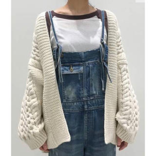 L'Appartement DEUXIEME CLASSE - アパルトモン I LOVE MR.MITTENS HONEY CARDIGAN
