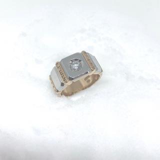 天然ダイヤモンド 0.5ct メンズリング(リング(指輪))
