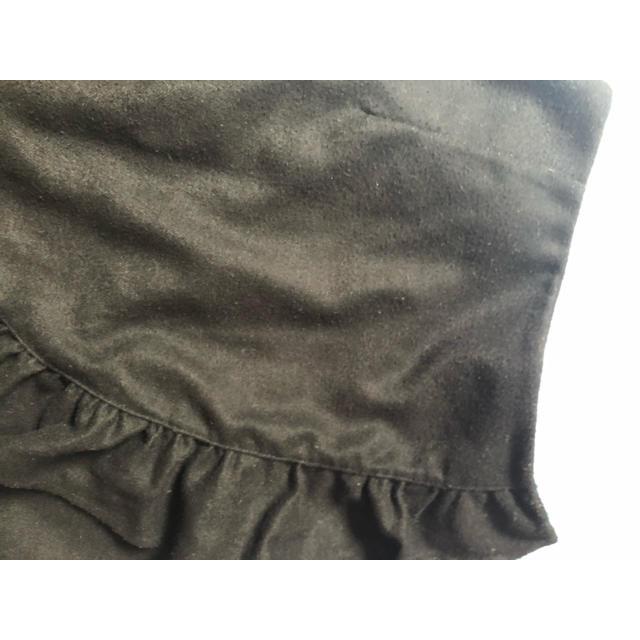 ByeBye(バイバイ)のByebye バイバイ グレー フリル スカート ラッフルタイトスカート レディースのスカート(ひざ丈スカート)の商品写真