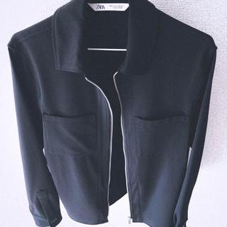 ザラ(ZARA)のZara TRAVELLER シャツジャケット(ブルゾン)