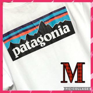 patagonia - Patagonia パタゴニア P-6ロゴ Tシャツ ホワイト Mサイズ