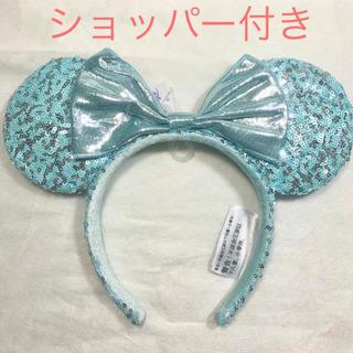 Disney - 【ショッパー付き】ディズニー カチューシャ アレンデール アクア