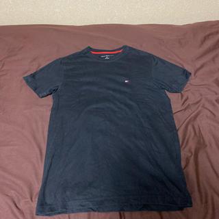 トミーヒルフィガー(TOMMY HILFIGER)のトミー Tシャツ 黒(Tシャツ/カットソー(半袖/袖なし))