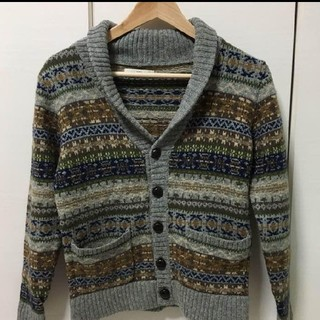 SHIPS - SHIPS ノルディックセーター