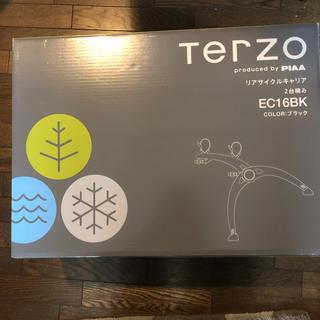 Terzo リアサイクルキャリア 2台積み EC16BK ハッチハガー付