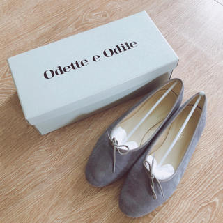 Odette e Odile - odette e odile ベロアバレエシューズ