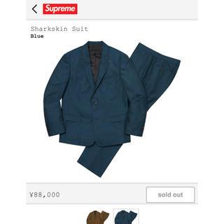 シュプリーム(Supreme)のsupreme 2019aw sharkskin suit S(セットアップ)