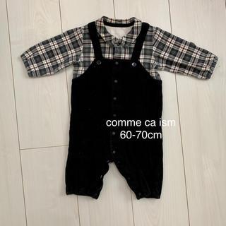 コムサイズム(COMME CA ISM)のcomme ca ism コムサ ロンパース 60-70cm(ロンパース)