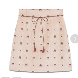 Lily Brown - lily brown  エンプロイダリーミニスカート