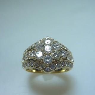 カルティエ(Cartier)の 豪華 K18 ダイヤモンド リング  2.05 ct(リング(指輪))