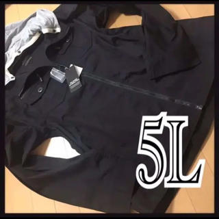5L・スタンドジャケット・フード付き新品/MC-909(シャツ)