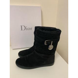 クリスチャンディオール(Christian Dior)のDior ムートンブーツ サイズ36(ブーツ)