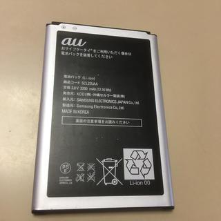 ギャラクシー(Galaxy)のau galaxy note3 バッテリー ほぼ新品 SCL22UAA(バッテリー/充電器)