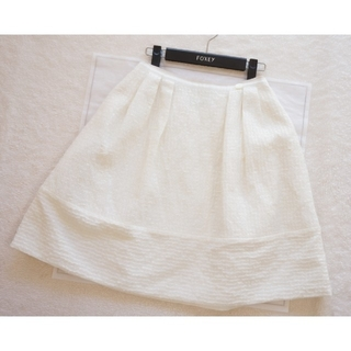 フォクシー(FOXEY)の試着のみ♡FOXEY♡Vanilla Stitchスカート(ひざ丈スカート)