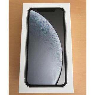 アイフォーン(iPhone)のiPhoneXR 64GB SIMフリー済み一括購入ネットワーク◎(スマートフォン本体)