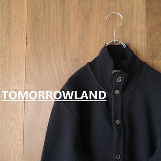TOMORROWLAND - BLUE WORK トゥモローランド スタンドカラージャケット