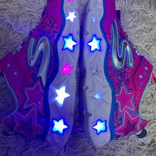 スケッチャーズ(SKECHERS)の新品 スケッチャーズ 21cm 光る靴(スニーカー)