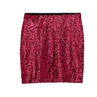 H&M - スパンコール ミニスカート
