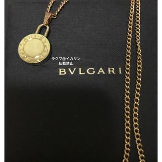BVLGARI - 【アウトレット】BVLGARI ネックレス チェーン付き ゴールド ペンダント