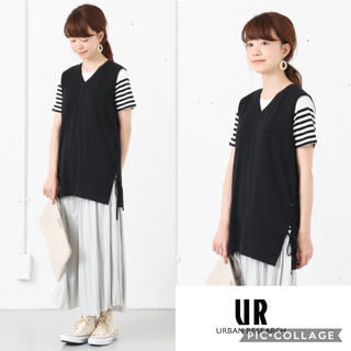 URBAN RESEARCH - 《SALE》 《新品》URBAN RESEARCH ニットベスト