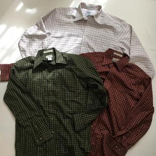 L.L.Bean - エルエルビーン シャツ チェック 長袖 ボタン llbean 古着 長袖シャツ