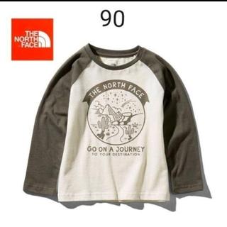 ザノースフェイス(THE NORTH FACE)の【新品】ノースフェイス ロンT  90(Tシャツ/カットソー)
