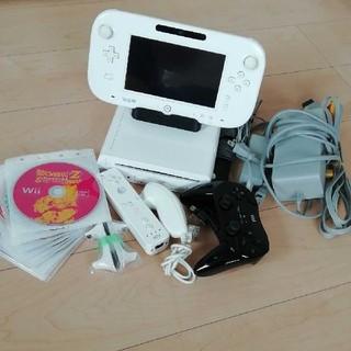 Wii U - WiiU 8GB 本体 ソフト10枚セット
