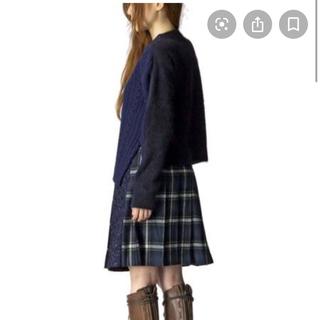sacai - 美品 ★ sacai luck サカイ ケーブル ウール ニット セーター 紺