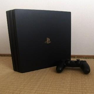 PlayStation4 - PlayStation4Proブラック 1T