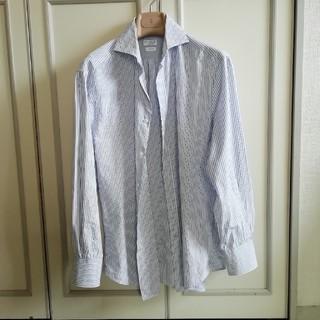 ブルネロクチネリ(BRUNELLO CUCINELLI)のブルネロクチネリ メンズシャツ M(シャツ)