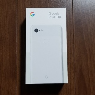 ANDROID - 【新品未開封】Google Pixel 3 XL 128GB ホワイト ドコモ