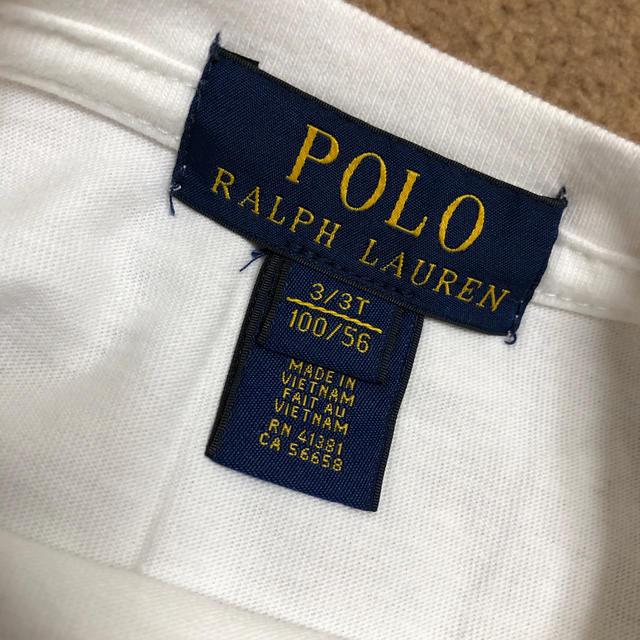 POLO RALPH LAUREN(ポロラルフローレン)のラルフローレン Tシャツ プリント柄 キッズ/ベビー/マタニティのキッズ服 男の子用(90cm~)(Tシャツ/カットソー)の商品写真