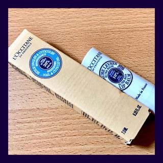ロクシタン(L'OCCITANE)のロクシタン  ●シアネイルオイル・シアバターリップクリーム【2点セット】新品(ネイルケア)