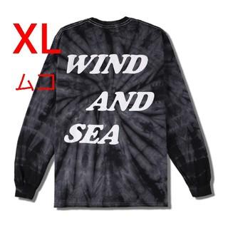 Ron Herman - Wind and sea TIE-DYE(palm tree)L/S Tee