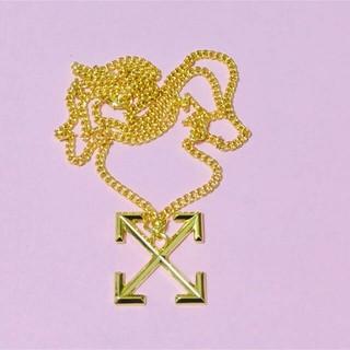 オフホワイト(OFF-WHITE)の日本未発売 オフホワイト ネックレス 19ss(ネックレス)