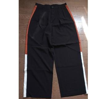 シャリーフ(SHAREEF)のshareef wid pants ワイドパンツ side line(スラックス)