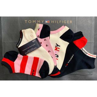 TOMMY HILFIGER - 新品 トミーヒルフィガーレディースソックス6足組