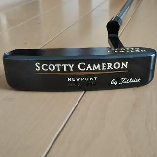 スコッティキャメロン(Scotty Cameron)の稀少 美品 NEW PORT 350G  33インチ 軟鉄 オリジナル品(クラブ)