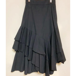 ミラオーウェン(Mila Owen)のミラオーウェン ラッフルマーメイドスカート(ロングスカート)