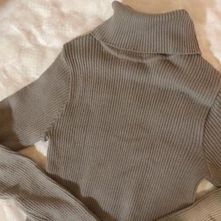 olive coller🍐turtle knit