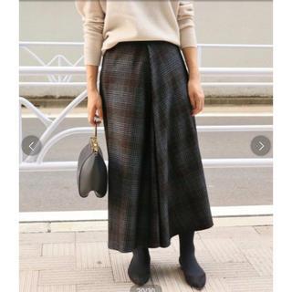 イエナ(IENA)の大人気完売品‼︎ IENA W/ACE ランダムフレアースカート 36(ロングスカート)