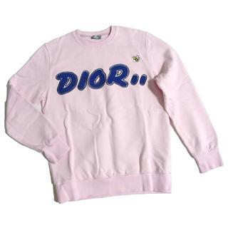 ディオール(Dior)の19SS DIOR KAWS ロゴ BEE 刺繍 スウェット トレーナー XS(スウェット)