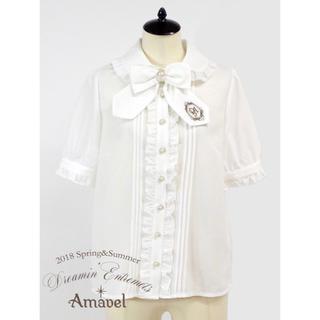 Amavel - Amavel 刺繍リボンブラウス